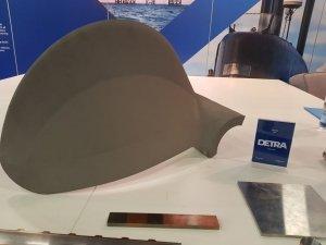 metallic propeller 3D printed
